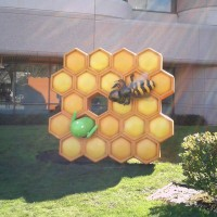 Estatua HoneyComb