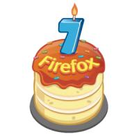 7° cumpleaños de Firefox